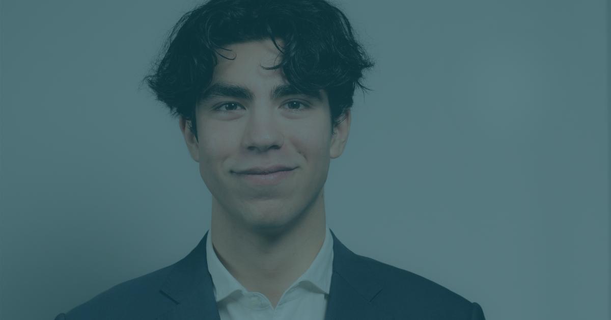 Étudiant entrepreneur Alexis Hamam
