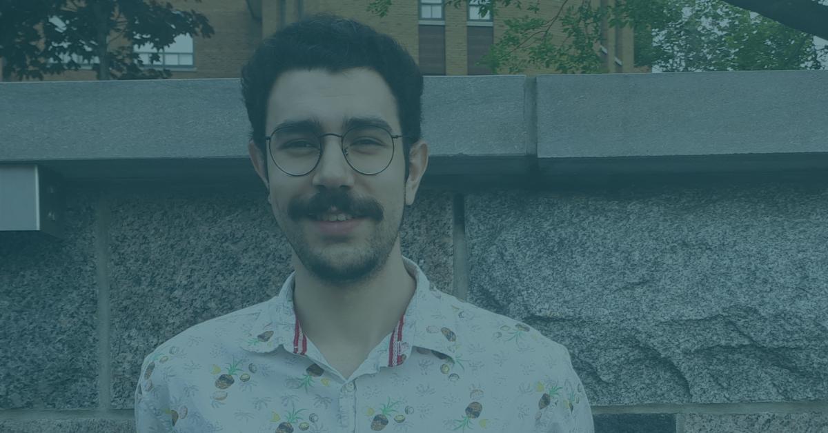 Étudiant entrepreneur Michel-Olivier Brisson